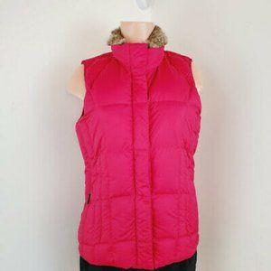 Eddie Bauer Womens Mock Neck Puffer Jacket Size M